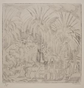 Landscape with Native Figures