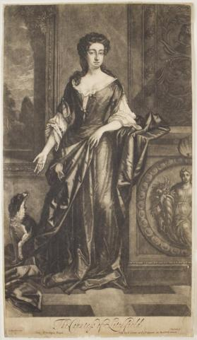 Charlotte Lee (FitzRoy), Countess of Litchfield (1664-1718)