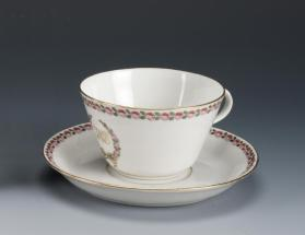 Cups and Saucers (Set of Eleven)