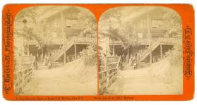 Glen Mountain House on North Cliff, Watkins Glen, N.Y.