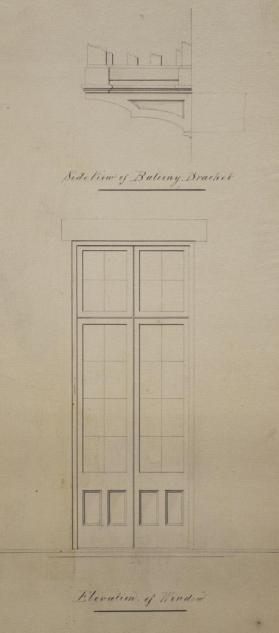 Elevation of Window
