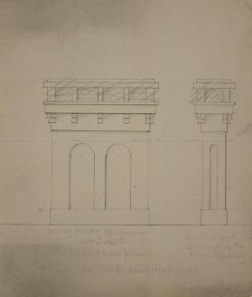 Elevation of Chimney
