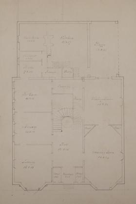 Plan of the First Floor