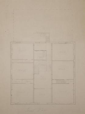 Plan for Second Floor