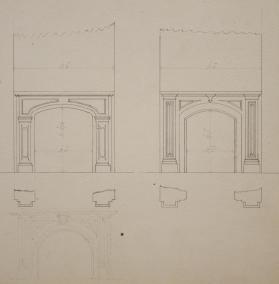Elevation for Fireplaces (2)