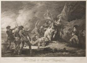 The Death of General Montgomery in the Attack of Quebec, December 1775