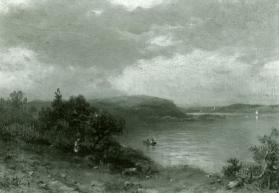 View of a Harbor with Headland