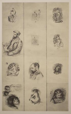Frontispiece, from Douze lithographies originales de Pierre-Auguste Renoir