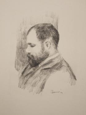 Ambroise Vollard, from Douze lithographies originales de Pierre-Auguste Renoir