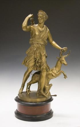 "Copy of the ""Diana of Versailles"""