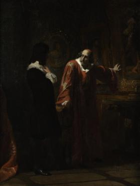 Cardinal Mazarin Taking Leave of His Pictures
