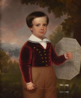 Portrait of Charles Beecher Crouse as a Young Boy