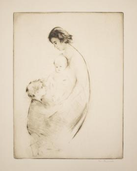 Untitled [Mother with Children]