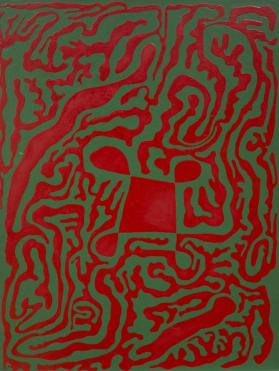 Untitled (Red-Green San Marco)
