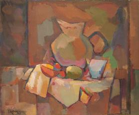 Still Life in Brown