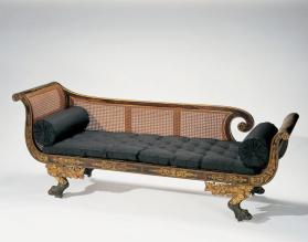 Grecian Couch; Settee