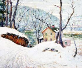 Winter, Spuyten Duyvil