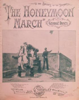 'The Honeymoon March, Dedicated to the Brides of the Season' by George Rosey