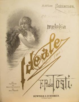 """Ideale (My Ideal)"" by F. Paolo Tosti, words by Carmelo Errica"