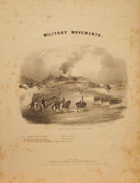 'Military Movements: Dehon's Quick Step' Anonymous Composer