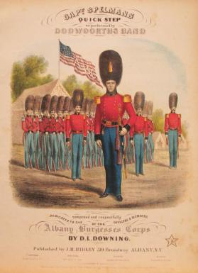 'Capt. Spelman's Quick Step' By D.L. Downing
