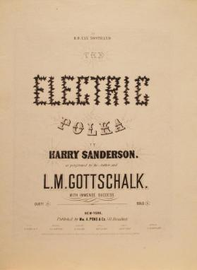 'The Electric Polka' By Harry Sanderson