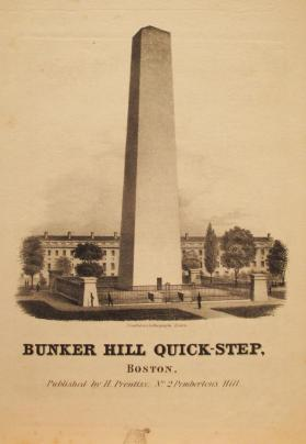 'Bunker Hill Quick Step' By J. Freidheim, Arranged by Ch. Zeuner