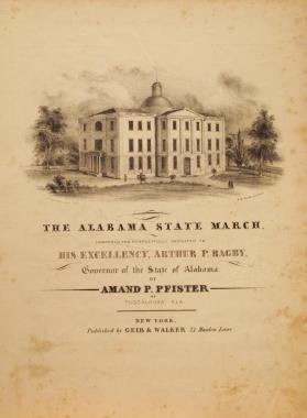'The Alabama State March' By Amand P. Pfister