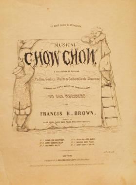 'Musical Chow Chow: The Merry Sunshine Galop' By Francis H. Brown