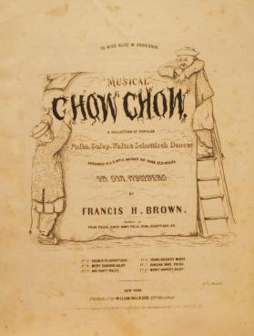'Musical Chow Chow: The Merry Harvest Galop' By Francis H. Brown