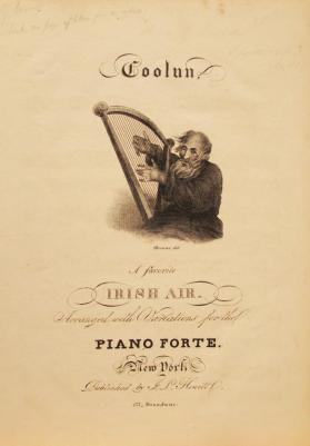 'Coolun, A Favorite Irish Air' Composer Unknown