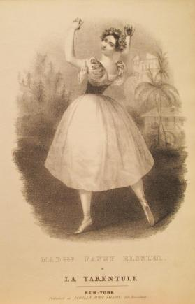 'Mademoiselle Fanny Elssler in La Tarentule' Composer Unknown