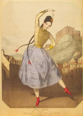 'Fanny Elssler in La Cracovienne Dance' Composer Unknown