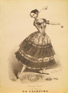 'Fanny Elssler in the Character of La Cachucha' Composer Unknown