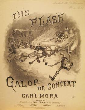 'The Flash! Galop de Concert' By Carlo Mora