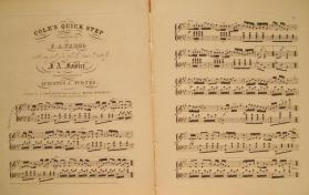 'Cole's Quick Step' By F. A. Fargo, Arranged by Fowler